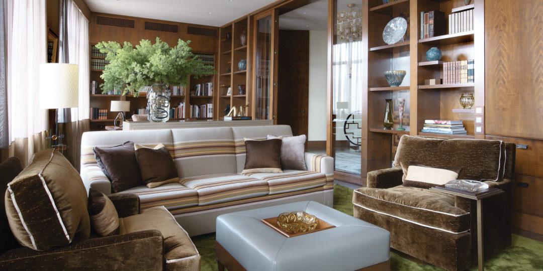Contemporary Art Deco a contemporary art deco home in russia | interiors magazine