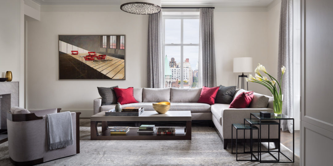 Classic contemporary apartment at the apthorp in new york for New york interiors