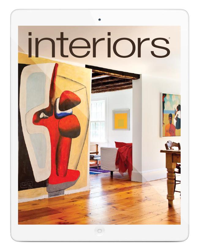 DIGITAL EDITION FREE. Interiors Magazine  Interior Design  Art and Architecture