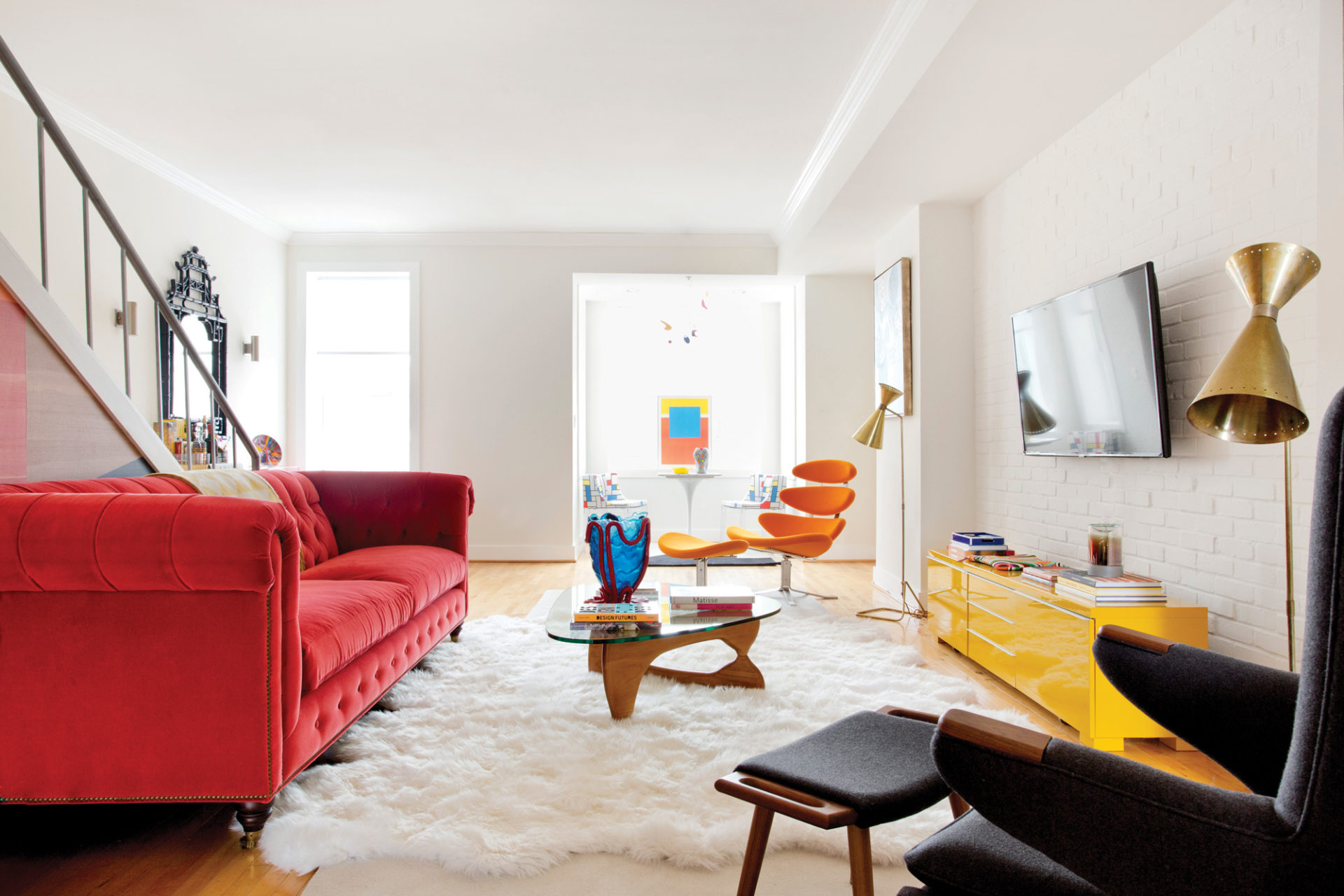 Colorful and Contemporary in D.C. | Interiors Magazine