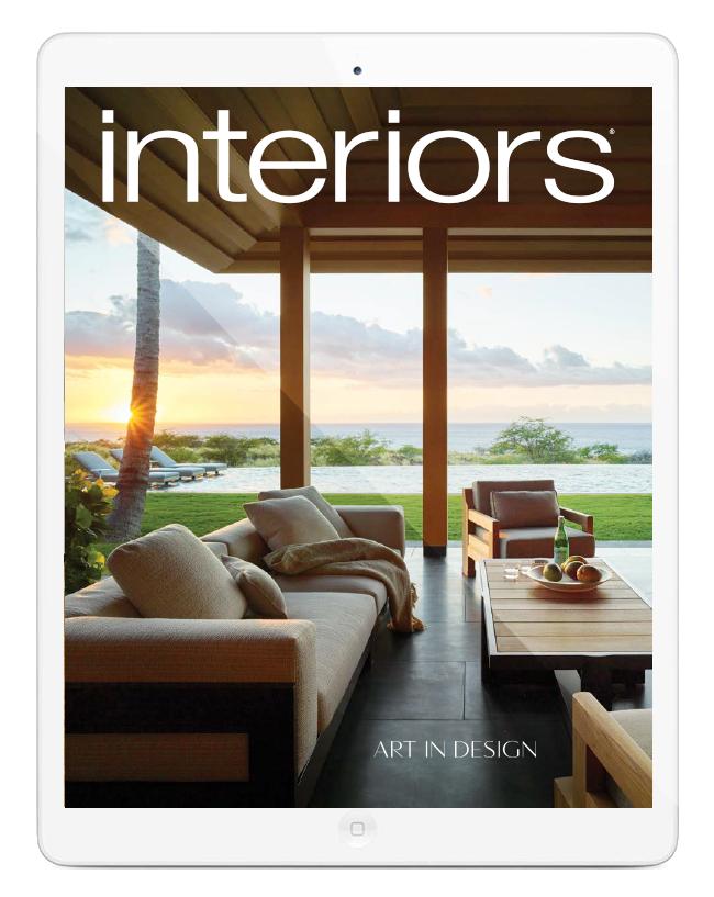 Interior Design Magazine interiors magazine; interior design, art and architecture