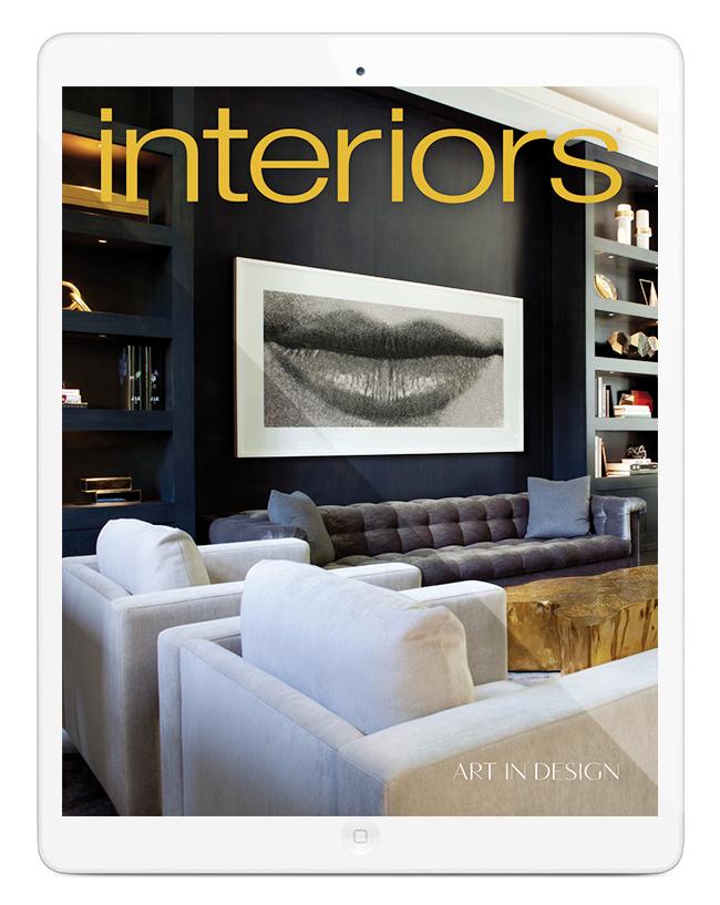 Interiors Magazine Interior Design Art And Architecture